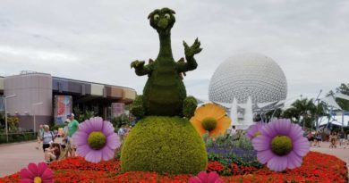Figment - Epcot Flower & Garden Festival