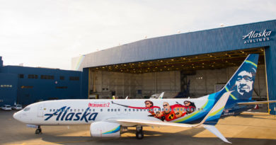 Alaska Airlines gets 'animated' with newly themed plane featuring artwork from Disney•Pixar's Incredibles 2