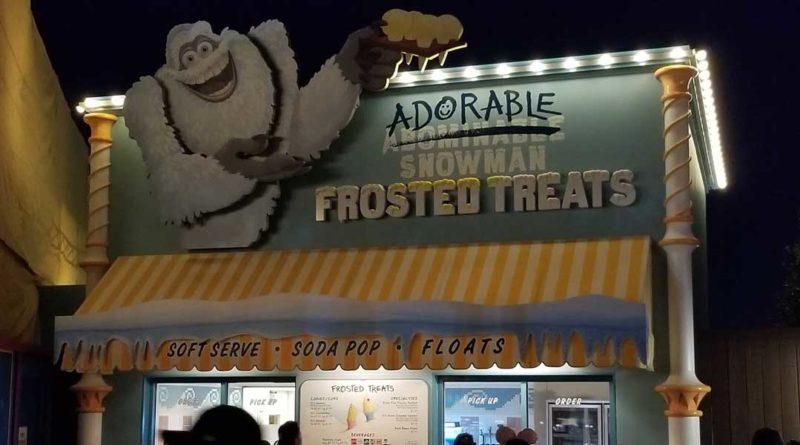 Pixar Pier - Adorable Snowman Frosted Treats