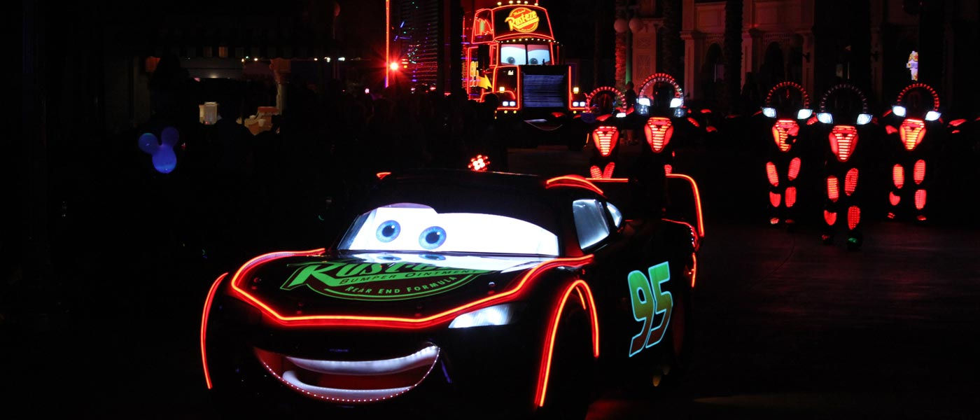 Paint the Night at Disney California Adventure (several pictures)