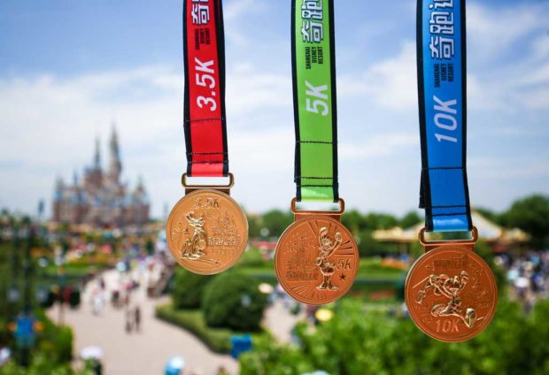 Shanghai Disney Resort Inaugural Disney Inspiration Run