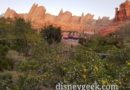 Ornament Valley Cars Land this evening