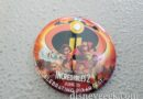 Incredibles 2 buttons available at park entrances today