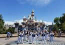Disneyland Band performing in front of Sleeping Beauty Castle