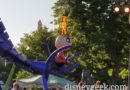 Noticed Jack-Jack has fire again in the Pixar Play Parade