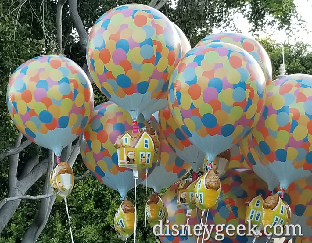 Up! Balloons for sale at Disneyland