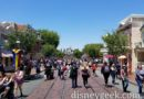 Arriving at Disneyland, Main Street USA