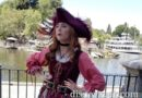 Redd in New Orleans Square at Disneyland