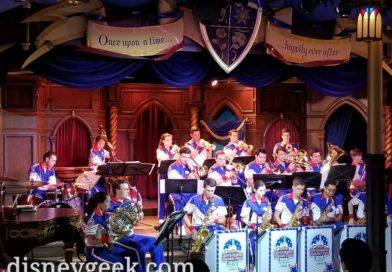 2018 Disneyland All-American College Band performing in the Royal Theatre