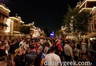Ready for Together Forever Fireworks at Disneyland