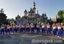 2018 Disneyland All-American College Band performing in front of Sleeping Beauty Castle