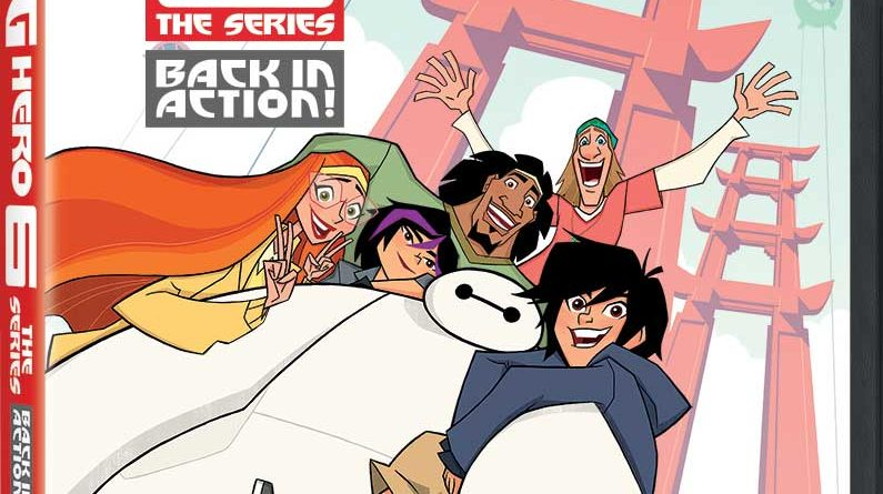 Big Hero 6 the Series DVD