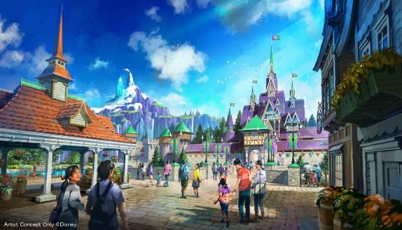 Tokyo DisneySea Expansion - Frozen Area