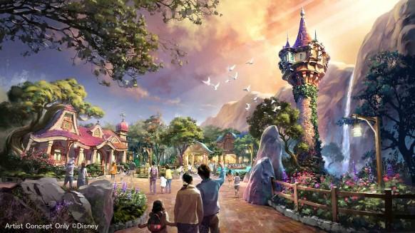 Tokyo DisneySea Expansion - Tangled Area