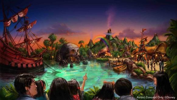 Tokyo DisneySea Expansion - Peter Pan Area