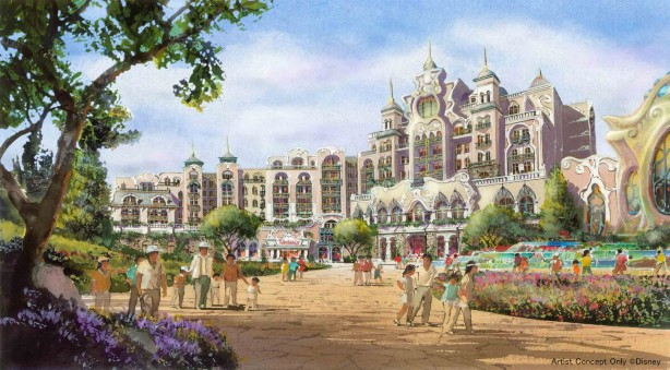 Tokyo DisneySea Expansion - New Hotel