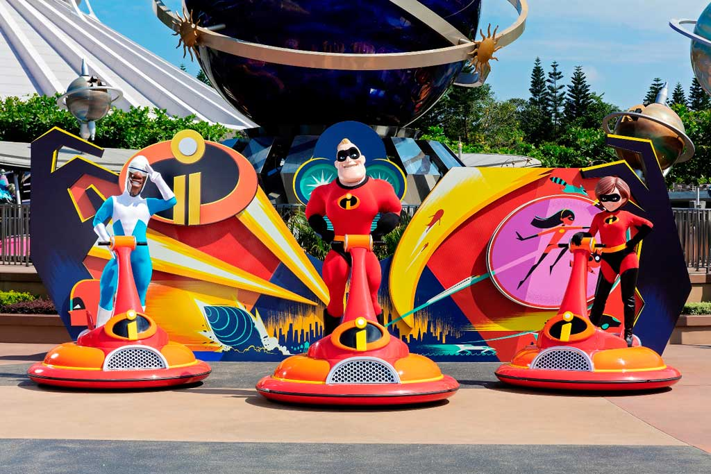 Hong Kong Disneyland - Incredibles