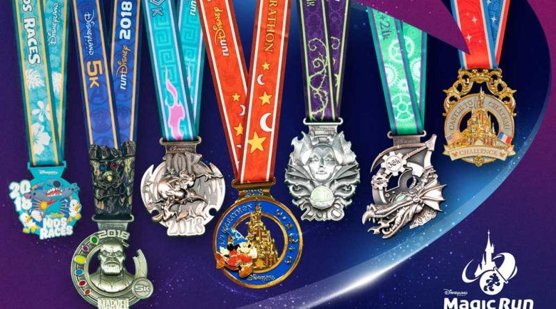Disneyland Paris 2018 Medals