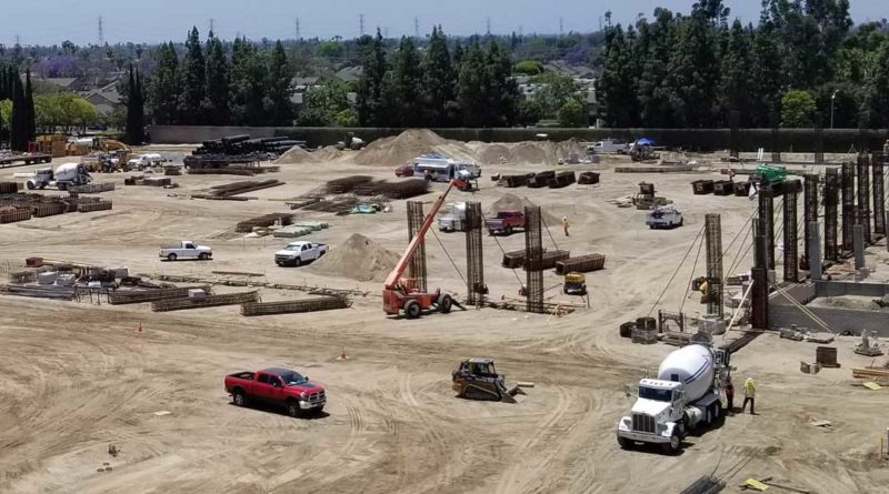 Disneyland Parking Garage Construction