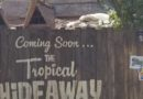 Tropical Hideaway Construction in Adventureland Several Pictures from 6/15