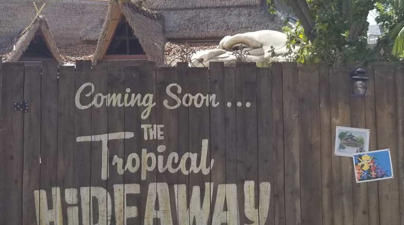 Tropical Hideaway Construction