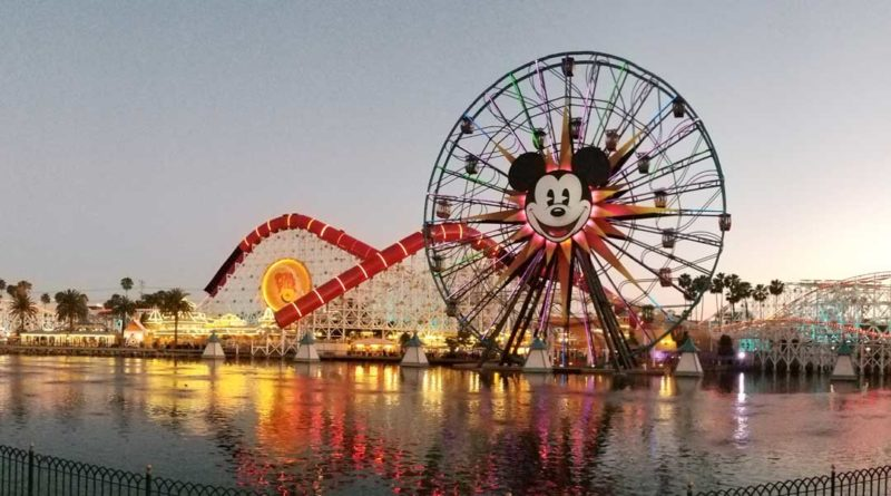 Pixar Pier 1 day to opening