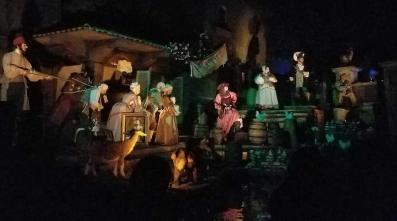 Pirates of the Caribbean Auction Scene