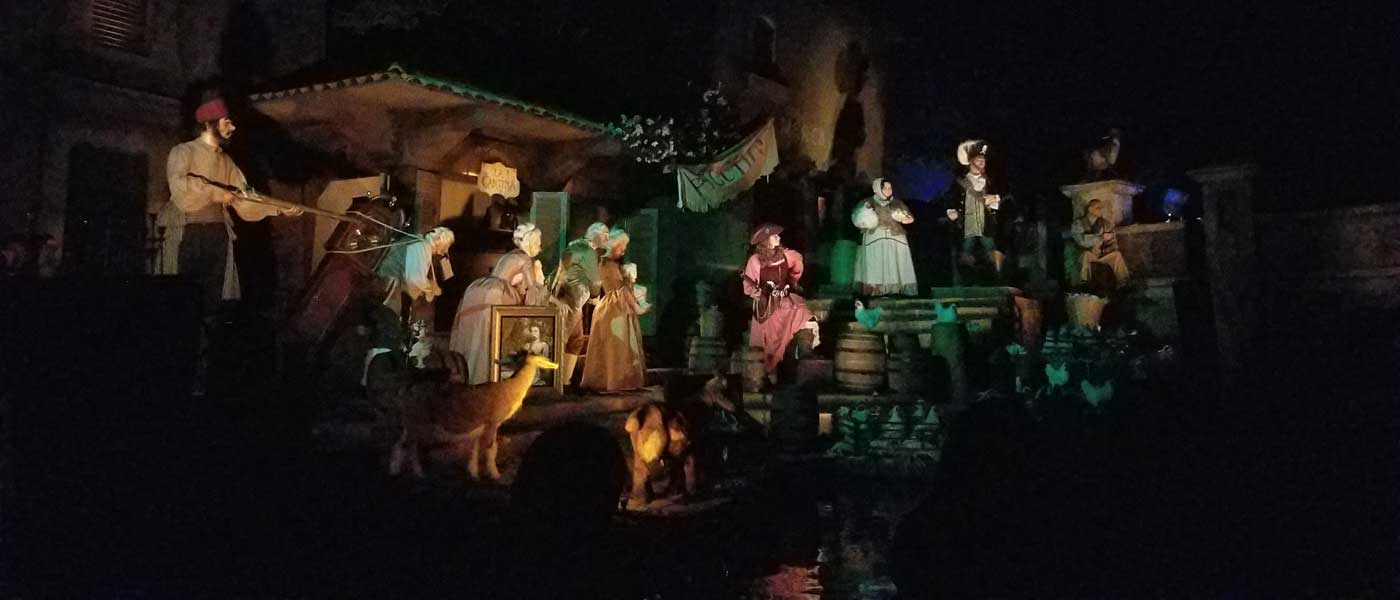 Disneyland Pirates of the Caribbean (several pictures)