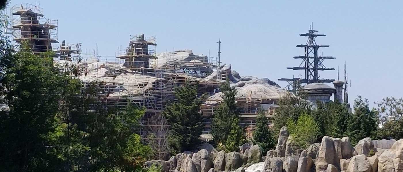 Disneyland Star Wars: Galaxy's Edge Construction Pictures (6/22)