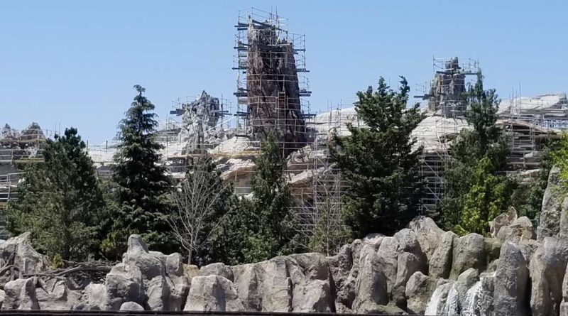 Star Wars Galaxy's Edge Construction