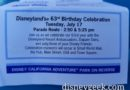 Disneyland 63rd Birthday Celebration Info & a look back