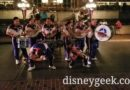 2018 Disneyland All-American College Band performing in Town Square