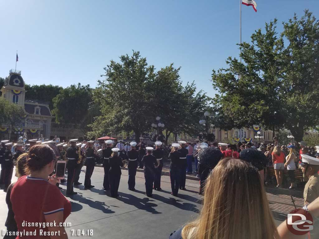 4th of July Marine Band