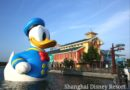 Donald Duck on Shanghai Disney Resort Wishing Star Lake in Disneytown