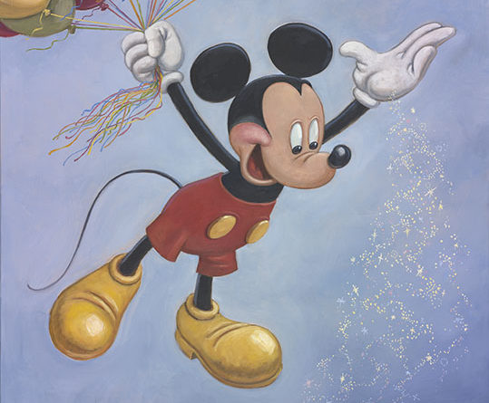 Mickey Mouse's Official 90th Birthday Portriat