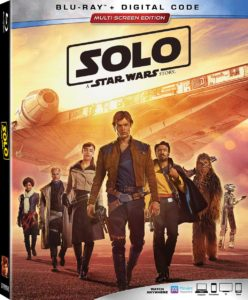 Solo: A Star Wars Story Home Video Box