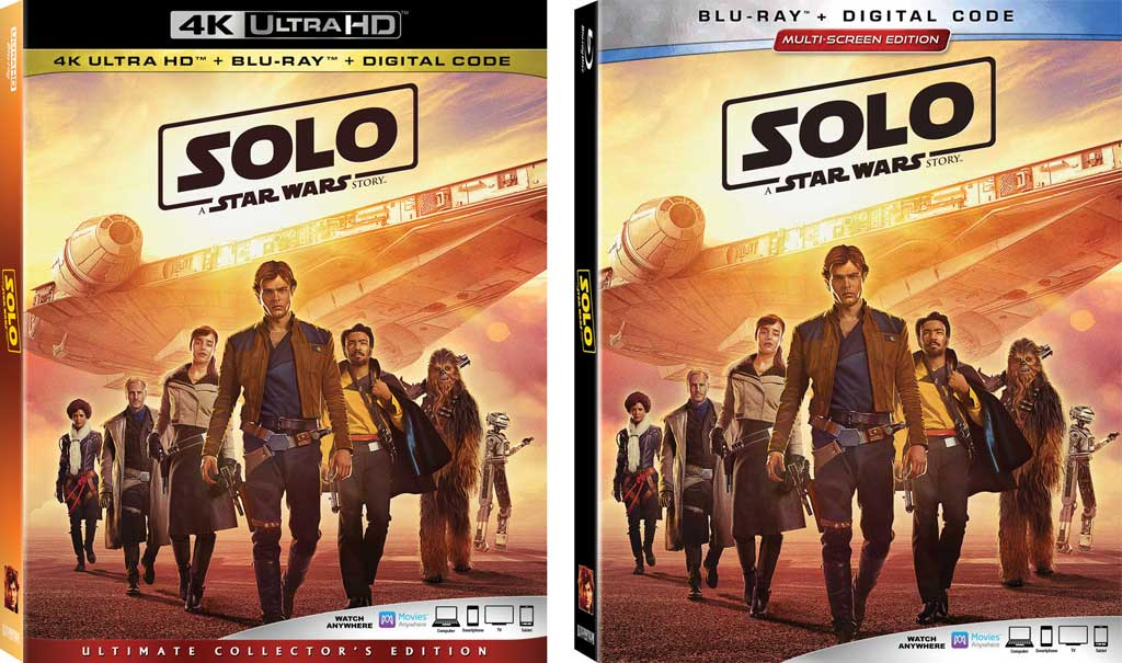 Solo A Star Wars Story Sept 14th Digital Amp Sept 25th