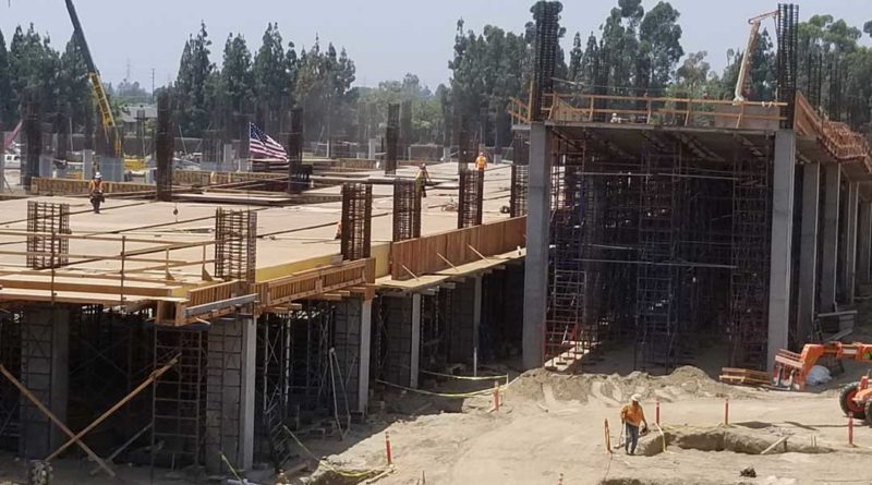 Disneyland Parking Structure Construction