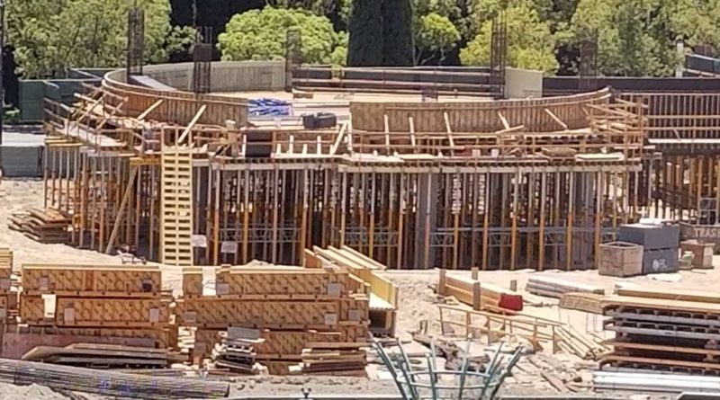 Disneyland New Parking Structure Construction