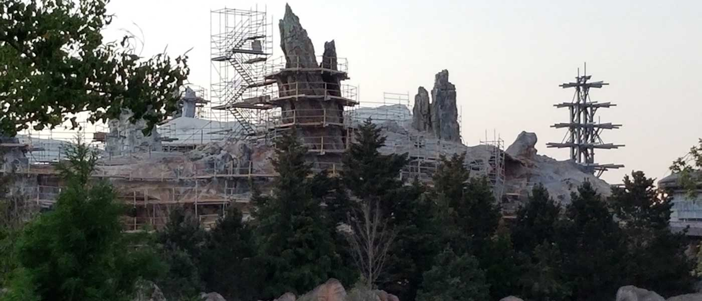 Disneyland Star Wars: Galaxy's Edge Construction Pictures (7/13)