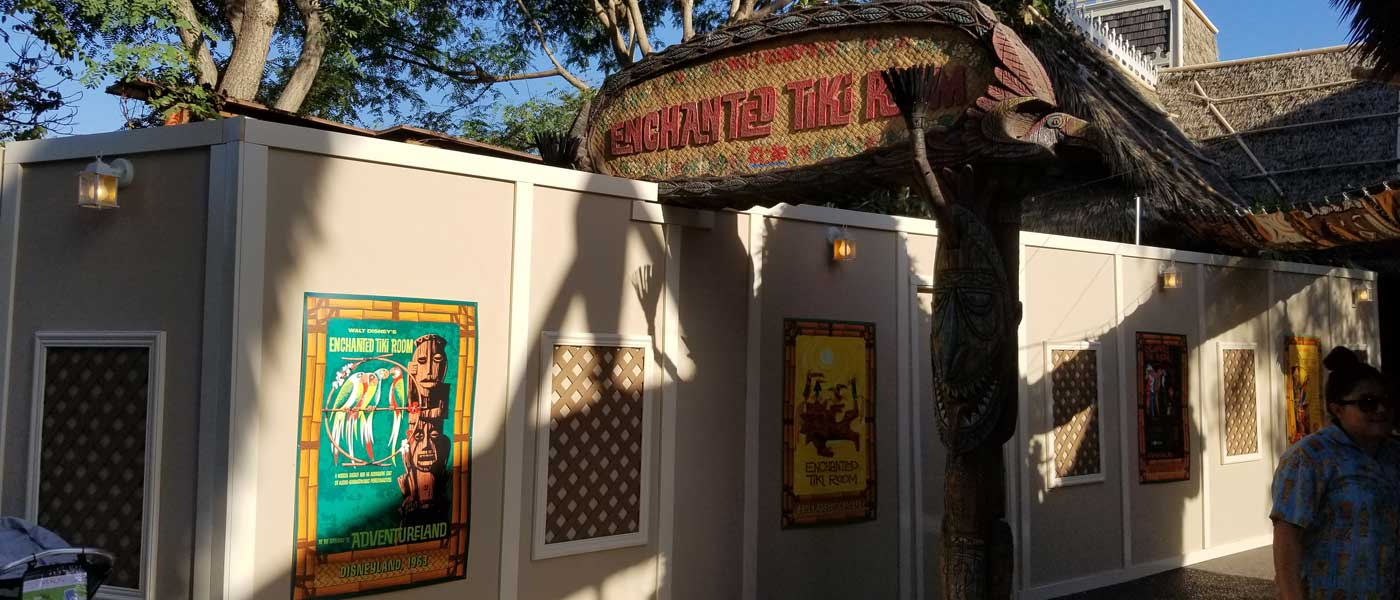 Tiki Room Garden Renovation Wall Pictures