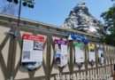 Matterhorn is currently closed for renovation at Disneyland