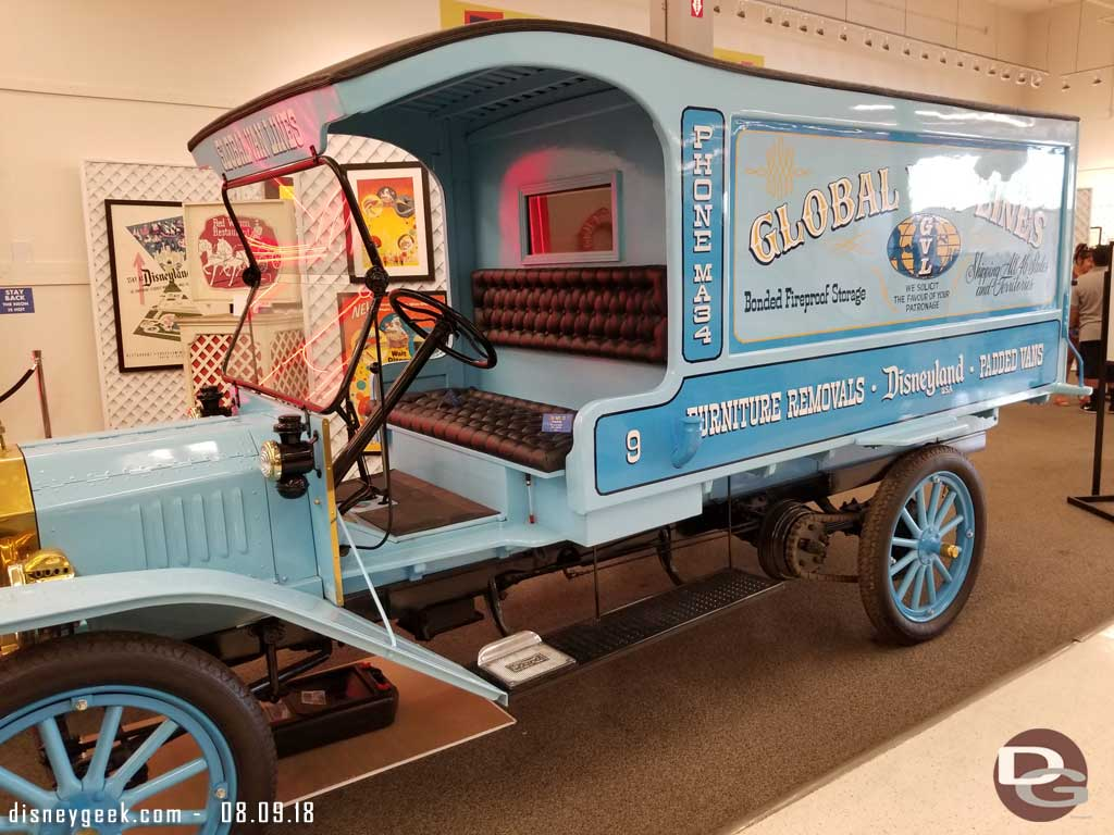 Global Van Lines Truck from the 1960s.