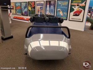 Disneyland Space Mountain Vehicle (1977)