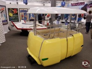Disneyland People Mover Car