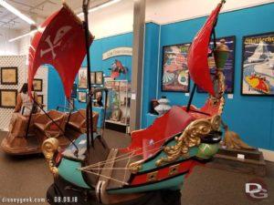 Peter Pan's Flight Attraction Vehicle (Disneyland 1955-2000s)