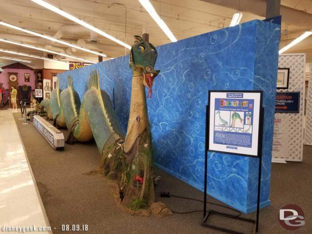 Disneyland Submarine Voyage Sea Serpent
