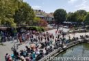 Disneyland New Orleans Square from the Mark Twain Riverboat