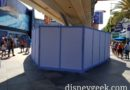 Renovation work in Tomorrowland to continue widening the walkway