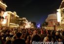 Made it to Main Street USA with 5 min to spare before Together Forever fireworks